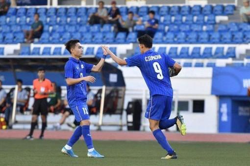 U22 Thái Lan thắng hủy diệt U22 Brunei, nuôi hi vọng cạnh tranh U22 Việt Nam