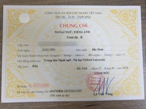 Bộ GD&ĐT bãi bỏ thi chứng chỉ ngoại ngữ