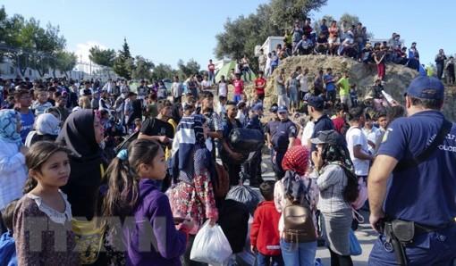 EU cần giúp Hy Lạp giải quyết cuộc khủng hoảng người di cư