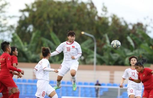 Thắng đậm Indonesia, tuyển nữ Việt Nam giành vé vào bán kết