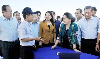 Chủ tịch Quốc hội Nguyễn Thị Kim Ngân thăm và làm việc tại An Giang