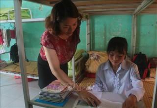 Mô hình trường bán trú - điểm tựa cho học sinh vùng cao