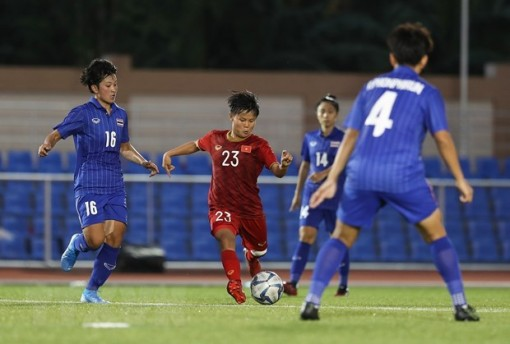 SEA Games 30: Cả 2 đội bóng đá nam và nữ Thái Lan đều vào thế bất lợi