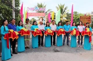 Thị trấn Phú Mỹ khánh thành cầu Hy vọng 44 – Vàm Cái Tắc