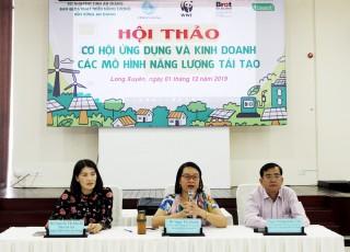 Cơ hội ứng dụng và kinh doanh các mô hình năng lượng tái tạo tại An Giang
