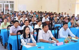 Đại biểu Quốc hội tỉnh: Tiếp xúc cử tri sau kỳ họp lần thứ 8, Quốc hội khóa XIV