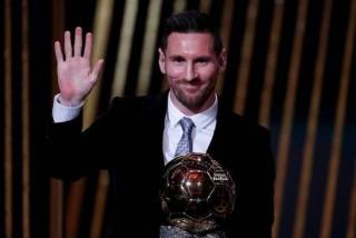 Cầu thủ Lionel Messi giành danh hiệu Quả bóng vàng 2019