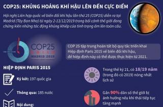 COP 25: Khủng hoảng khí hậu lên đến cực điểm