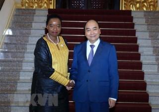 Thủ tướng Nguyễn Xuân Phúc tiếp Bộ trưởng Ngoại giao Cộng hòa Kenya