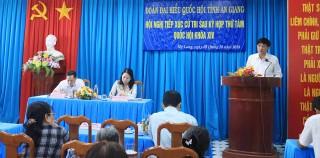 Tiếp xúc cử tri sau kỳ họp thứ 8 (Quốc hội khóa XIV)