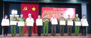 Sơ kết 5 năm thực hiện các chỉ thị của Bộ trưởng Bộ Công an