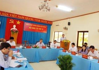 Tri Tôn hướng đến Đại hội Đảng nhiệm kỳ 2020-2025