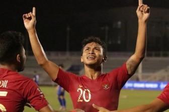 U.22 Indonesia thắng 8-0 U.22 Brunei, đẩy U.22 Thái Lan vào thế khó