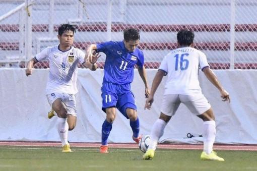 U.22 Thái Lan thắng U.22 Lào phút 90, chờ quyết đấu U.22 Việt Nam