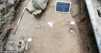 Đào đường đặt cáp quang, phát hiện mộ cổ kỳ lạ 1.300 tuổi