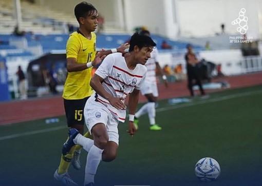 Đánh bại U22 Malaysia, U22 Campuchia lần đầu vào bán kết SEA Games