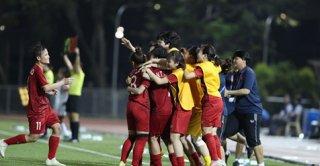 Đội tuyển bóng đá nữ Việt Nam vào chung kết SEA Games 30