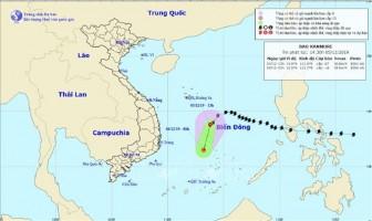 Bão số 7 suy yếu thành áp thấp nhiệt đới và tan dần