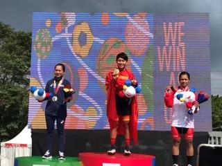 SEA Games 30: Nguyễn Thị Thật đoạt HCV đua xe đạp đường trường