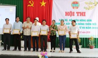 Huyện Phú Tân tổ chức Hội thi cán bộ, hội viên nông dân xây dựng nông thôn mới