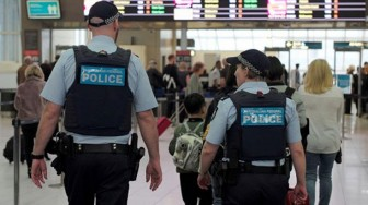 Australia bố trí cảnh sát chống khủng bố tuần tra tại các sân bay lớn