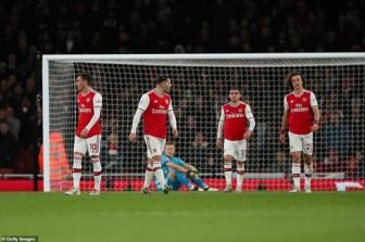 Arsenal thua đau, bảng xếp hạng Ngoại hạng Anh mới nhất sau đêm qua