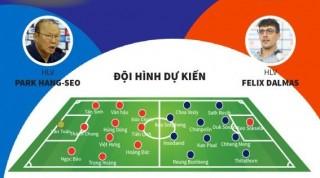 Dự kiến đội hình xuất phát trận U22 Việt Nam - U22 Campuchia