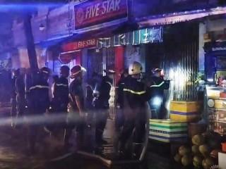 Ba người tử vong trong hỏa hoạn ở quận 7, TP.HCM
