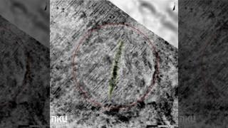 Quét radar, hiện ra 'con thuyền ma' chứa xương người giữa cánh đồng