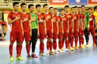 Việt Nam cùng bảng Turkmenistan, Tajikistan và Oman tại VCK Futsal châu Á 2020