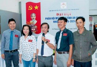 Đại hội Phân hội Mỹ thuật tỉnh An Giang, nhiệm kỳ 2019- 2024