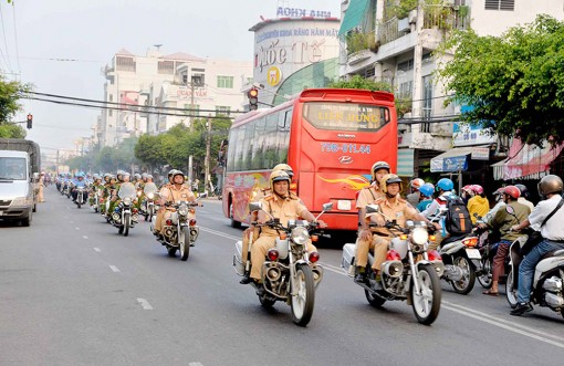 Xử phạt 1.686 trường hợp vi phạm trật tự an toàn giao thông