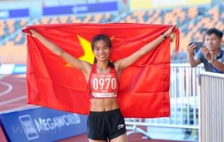 SEA Games 30: Đội tuyển Điền kinh liên tiếp giành được 2 HCV