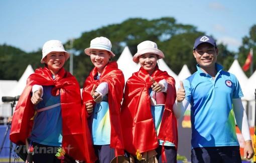Bảng tổng sắp huy chương SEA Games 30: Đoàn Việt Nam đã có 49 HCV