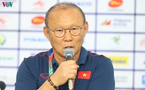 """Thầy Park: """"Tôi yêu Việt Nam và sẽ mang vinh quang về cho đất nước"""""""