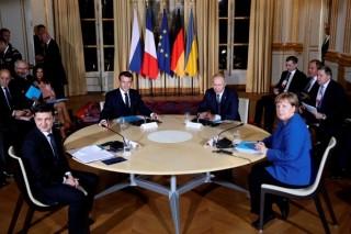 Kết thúc hội nghị thượng đỉnh Nhóm Bộ tứ Normandy tại Paris