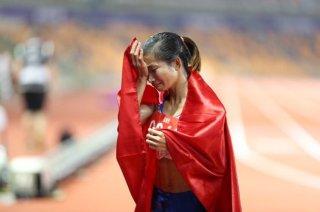 Nguyễn Thị Oanh giành 'hattrick Vàng' phá kỷ lục SEA Games