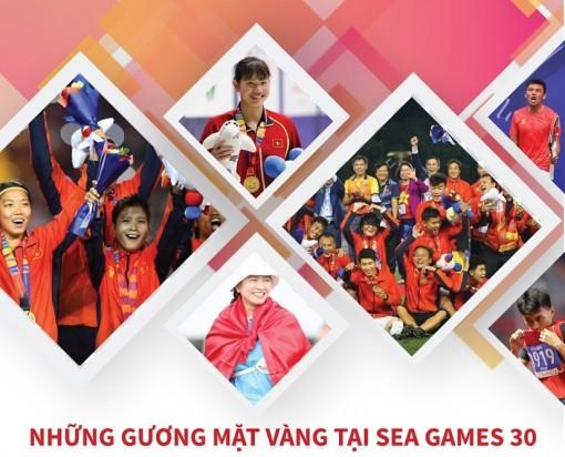 Những gương mặt vàng thể thao Việt Nam tại Sea Games 30