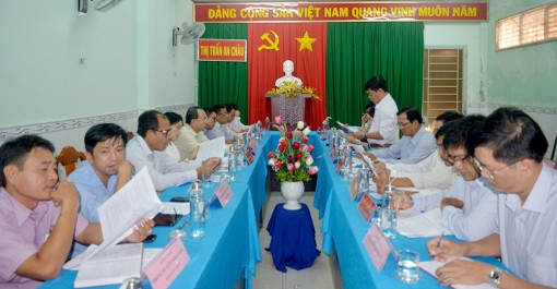 An Châu chuẩn bị tốt Đại hội đại biểu Đảng bộ (nhiệm kỳ 2020 – 2025)