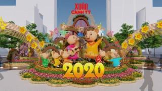 Ngày 22-1 khai mạc Đường hoa Nguyễn Huệ Xuân Canh Tý 2020