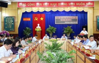 Hội nghị Ban Chấp hành Đảng bộ huyện Chợ Mới lần thứ 18