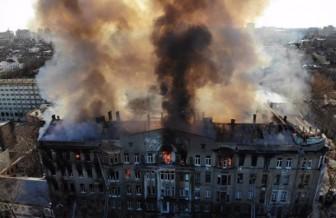 Ukraine: Số người thiệt mạng trong vụ hỏa hoạn tại Odessa tăng mạnh