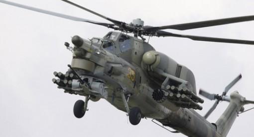 Rơi trực thăng quân sự Mi-28 của Nga trong đêm, toàn bộ phi hành đoàn thiệt mạng