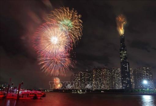 TP Hồ Chí Minh bắn pháo hoa tại 3 điểm dịp Tết dương lịch 2020