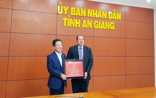 An Giang trao quyết định chủ trương đầu tư 2 dự án của Tập đoàn T&T