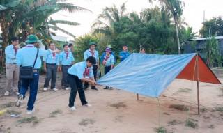 Phú Tân tổ chức trại huấn luyện kỹ năng, nghiệp vụ công tác Đội