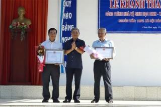 Trường THPT Trần Văn Thành khánh thành công trình nhà vệ sinh học sinh – tầng trệt