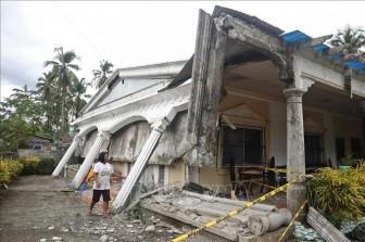 Động đất mạnh tại Philippines, một bé gái 6 tuổi thiệt mạng