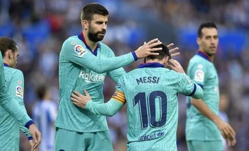 Messi nhạt nhòa, Barca bị Sociedad cầm hòa