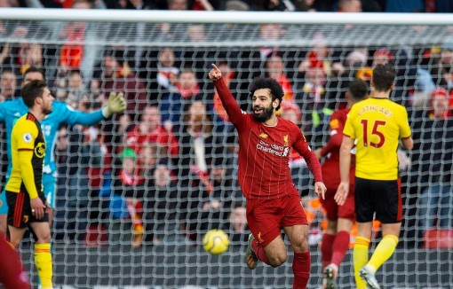 Mohamed Salah lập cú đúp, Liverpool vẫn bất bại ở Premier League